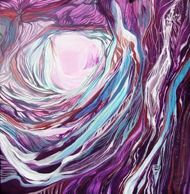 Caverne violette