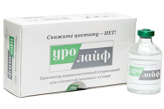 """Протектор """"Уролайф"""" для лечеия различных форм хронического цистита"""