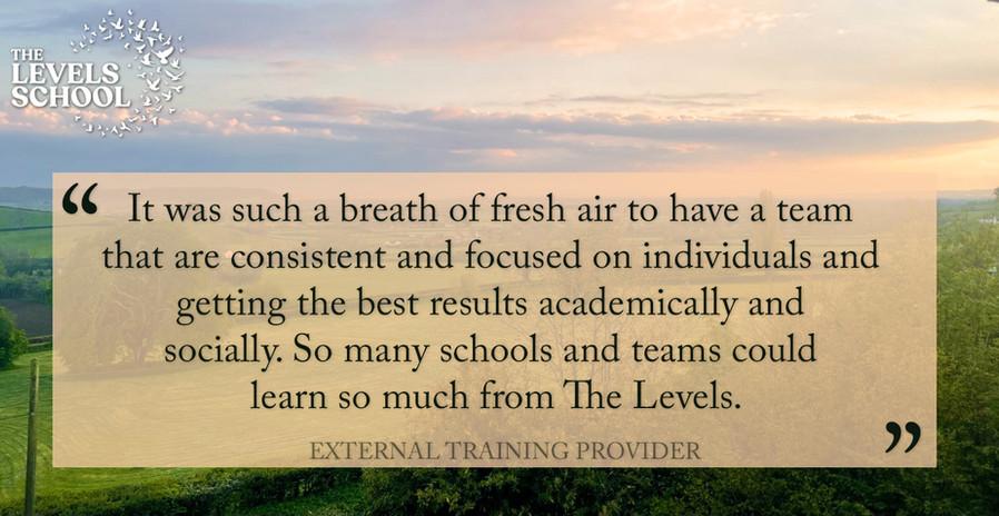 Training Provider Feedback