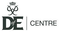 DofE logo plus descriptor gunmetal LOCAL