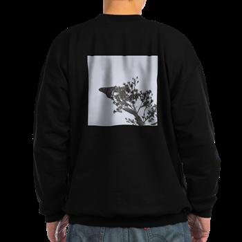 B&W Butterfly Sweatshirt