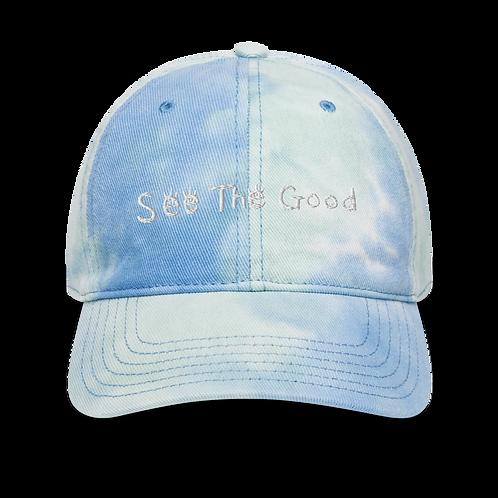 SEE THE GOOD Sky Tie-dye Hat
