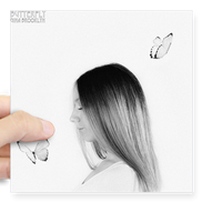 """Butterfly"" Single Cover Sticker"