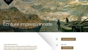 Atelier d'écriture au Musée des Beaux-Arts de Lyon