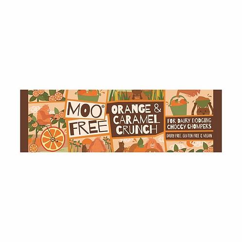Moo Free Ropogós Narancs és Karamell szelet 35g