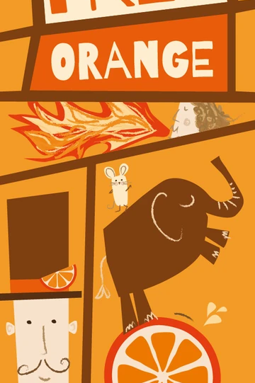 Moo Free Original Narancsos csokoládé szelet 20g