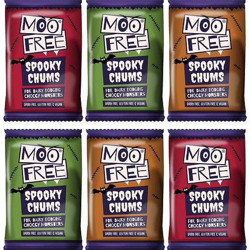 """Moo Free Halloween """"Tej jelleg"""" Csokoládé Szelet25g"""