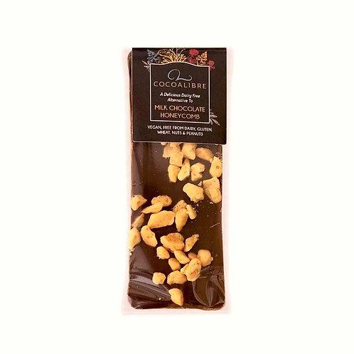 CocoaLibre Törökmézes-Rizstejes csokoládé szelet 40g