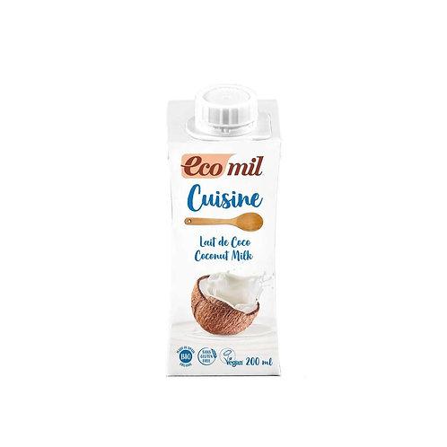 Ecomil Cuisine kókusz tejszín 200 ml