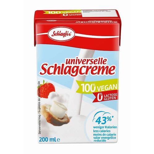 Schlagfix tejmentes cukormentes tejszín 200ml