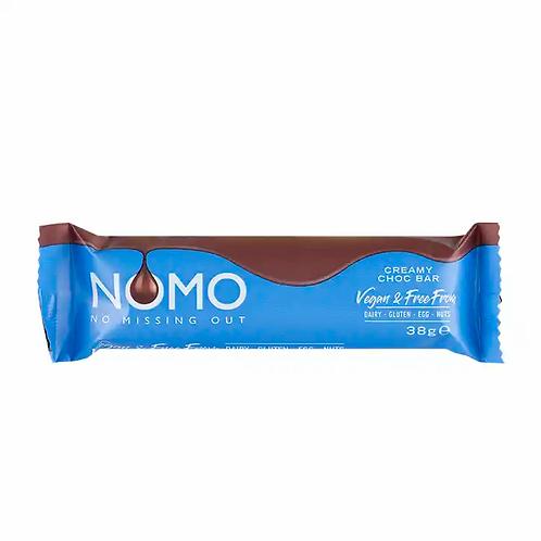 """NOMO Krémes """"Tej-csokoládé"""" szelet 38g"""