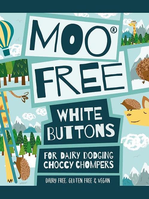 Moo Free Fehér csokoládé cseppek 25g