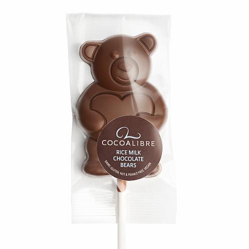 CocoaLibre Rizstejes Mackó Pálcikás Csokoládé Törött  20g