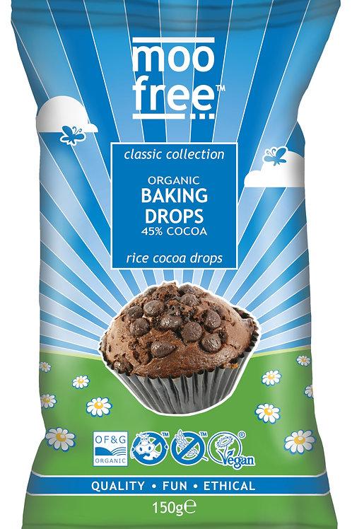"""Moo Free """"tej jelleg""""  Süthető csokoládé Cseppek 150g"""