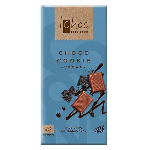 iChoc Csokiskeksz csokoládé tábla 80g
