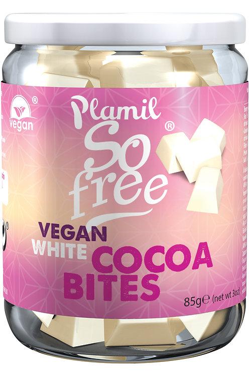Plamil Fehér Csokoládé Kockák üvegben 85g