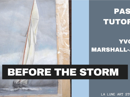 Before The Storm - Pastel Tutorial  - Part one and two