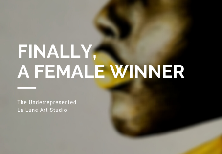 Art Competitions - Finally, a female winner.