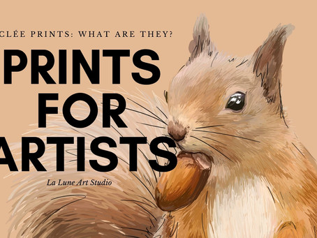 Prints: What is Giclée and why you should always go for quality for your prints.