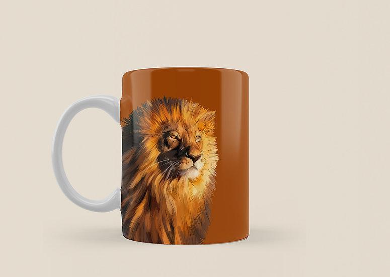 Lion 11oz Mug