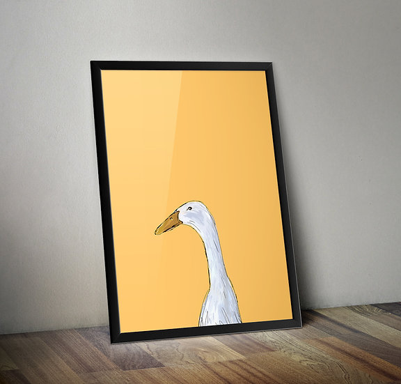 Duck Duck Duck - Duck giclée prints