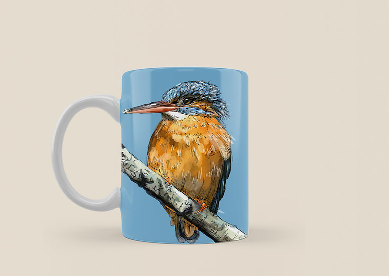Kingfisher 11oz Mug