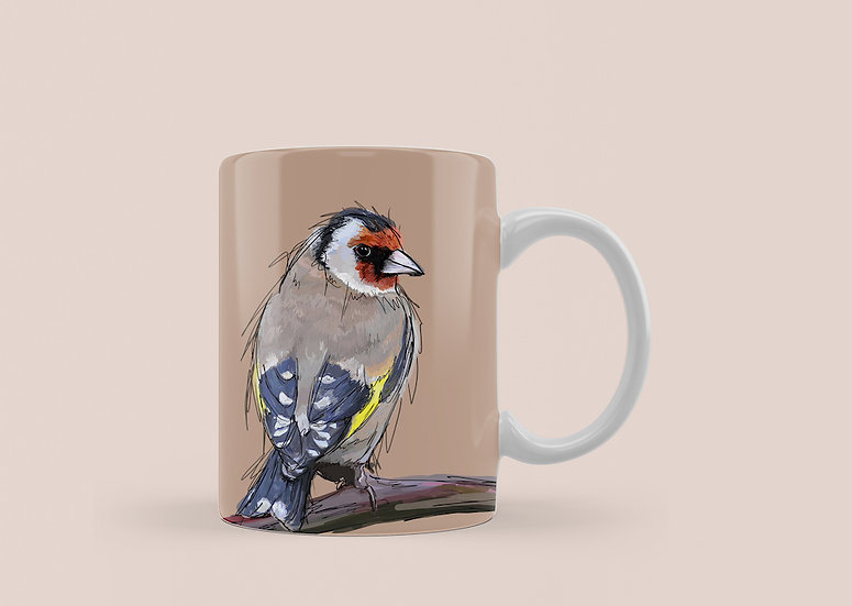 Goldfinch 11oz Mug