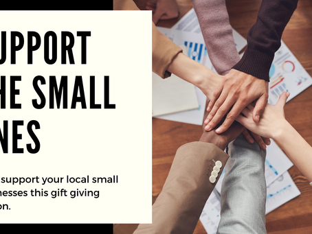 Small Businesses: We're ready for Christmas, will you help us?
