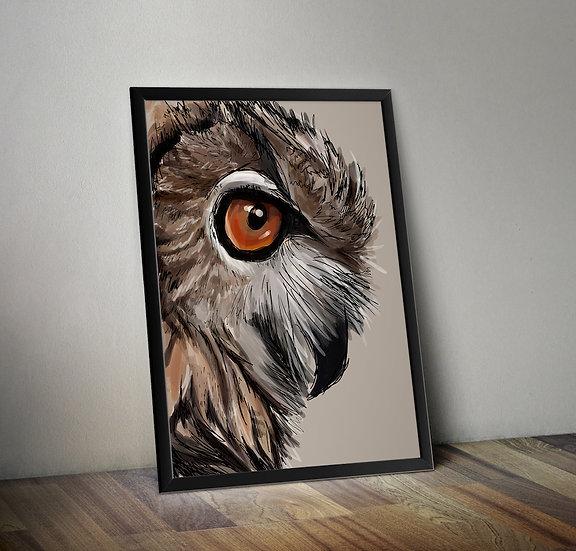 Owl Giclée Prints