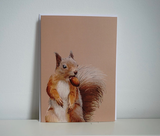 Did Someone say I'm Nuts? - Squirrel Card