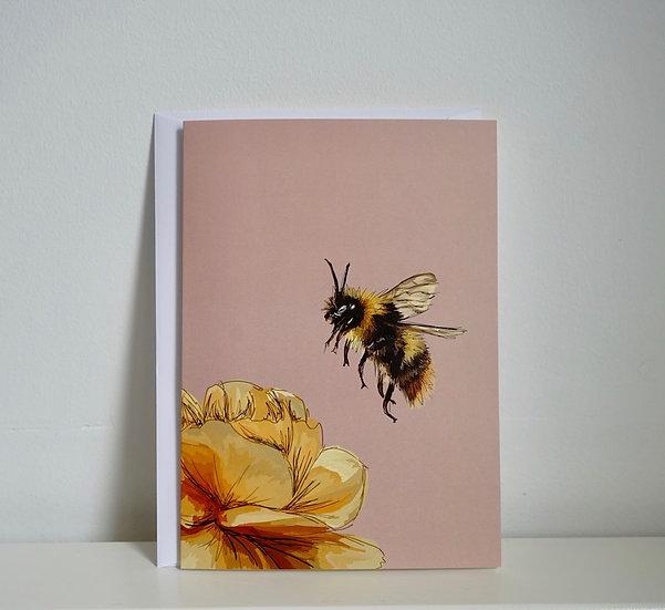 Sweet Nectar - Bee Card