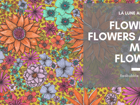 Flowers, flowers and more flowers! Don't you just love spring?