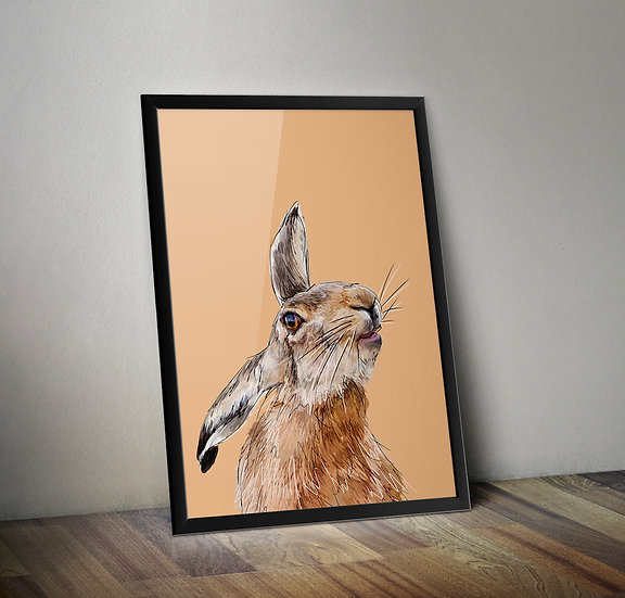 Stoopid Hare  - Hare giclée prints