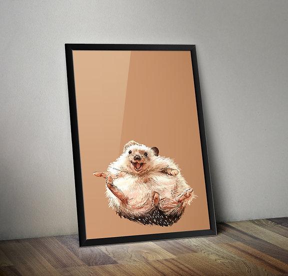 Hedgehog Giclée Prints