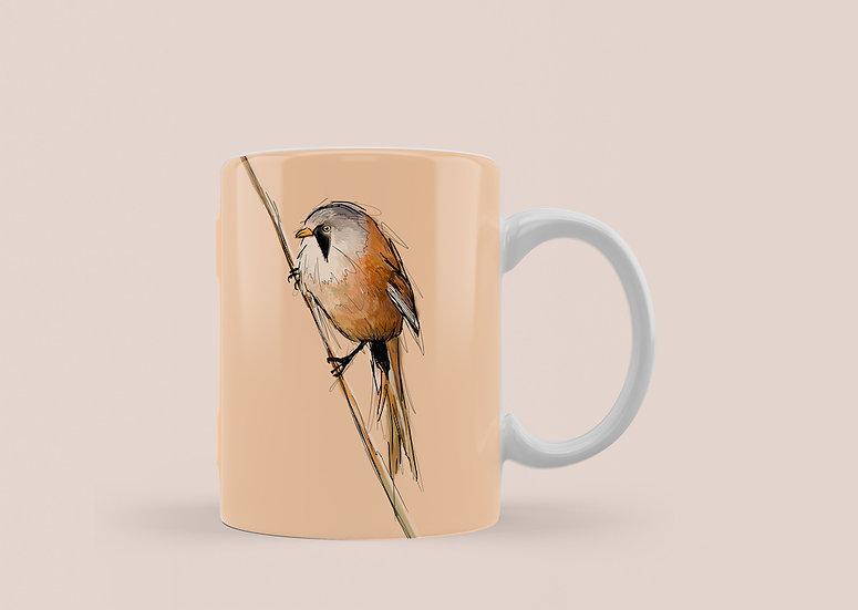 Bearded Tit 11oz Mug