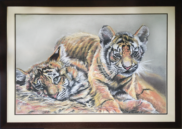 Two Brothers - Original Drawing