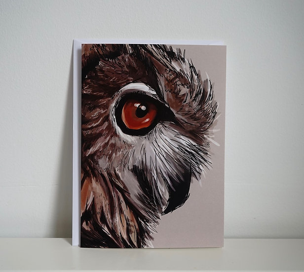 I'm Watching- Owl Card