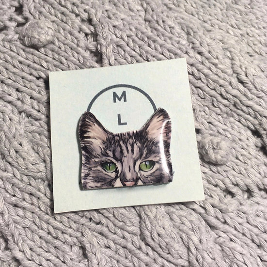 Cat Pin Badge