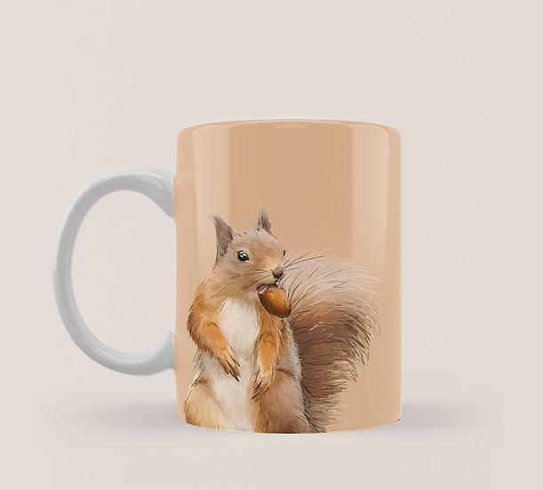Squirrel 11oz Mug