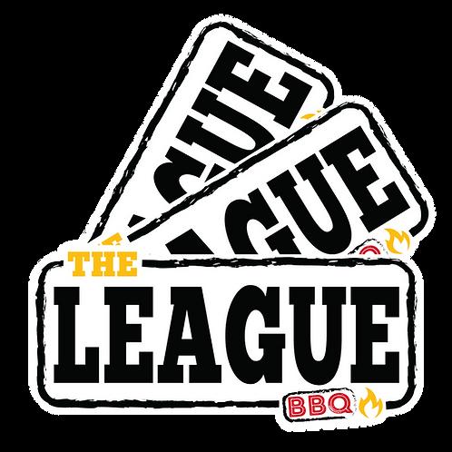 The BBQ League  - Sticker 3 Pack