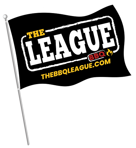 The BBQ League Flag