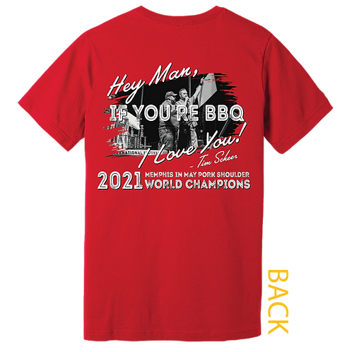 Memphis in May - BBQ League Logo Tee