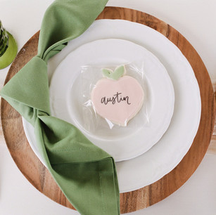 Edible Placecards