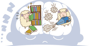 ノンレム睡眠とレム睡眠(不眠症:その4)