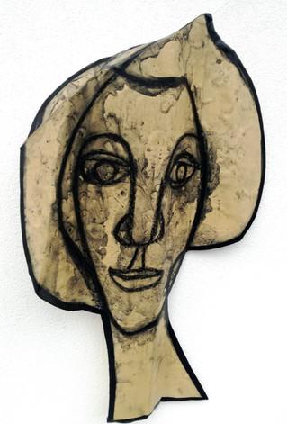 FRANCO BOGGE [DONNE] Sculture, disegni e quadri