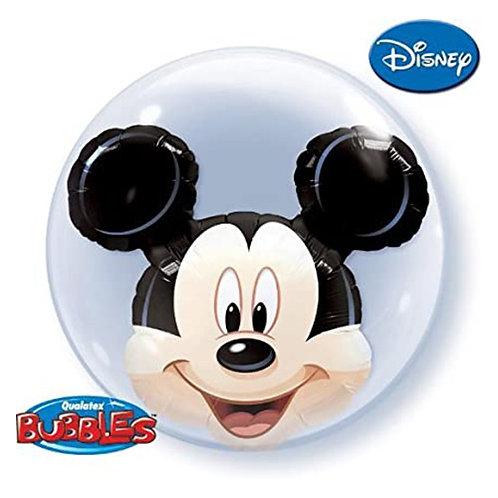 Mickey Mouse Double Bubble Balloon