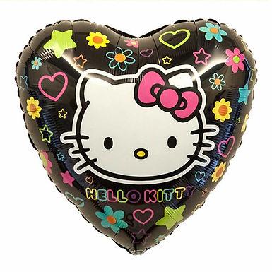 """Hello Kitty Heart 18"""" Foil Balloon"""