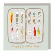 Fishing Gear Happy Birthday Pops Card.jp