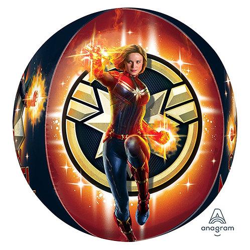 Captain Marvel Orb Balloon