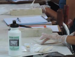 argamassa de resina poliester (protese)
